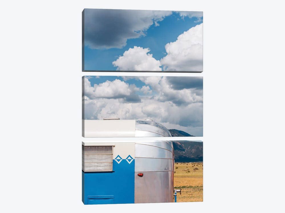 New Mexico Airstream VI by Bethany Young 3-piece Canvas Art Print