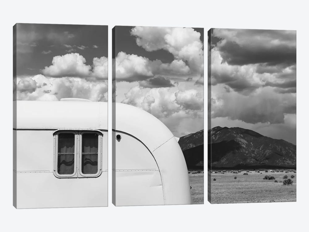 New Mexico Airstream VII by Bethany Young 3-piece Canvas Art