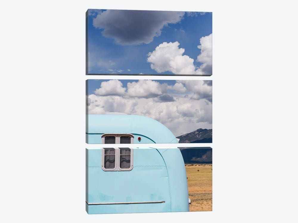 New Mexico Airstream VIII by Bethany Young 3-piece Art Print