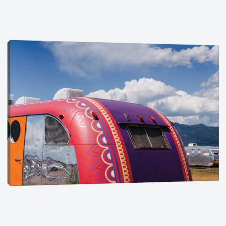 New Mexico Airstream Canvas Print #BTY1467} by Bethany Young Canvas Artwork
