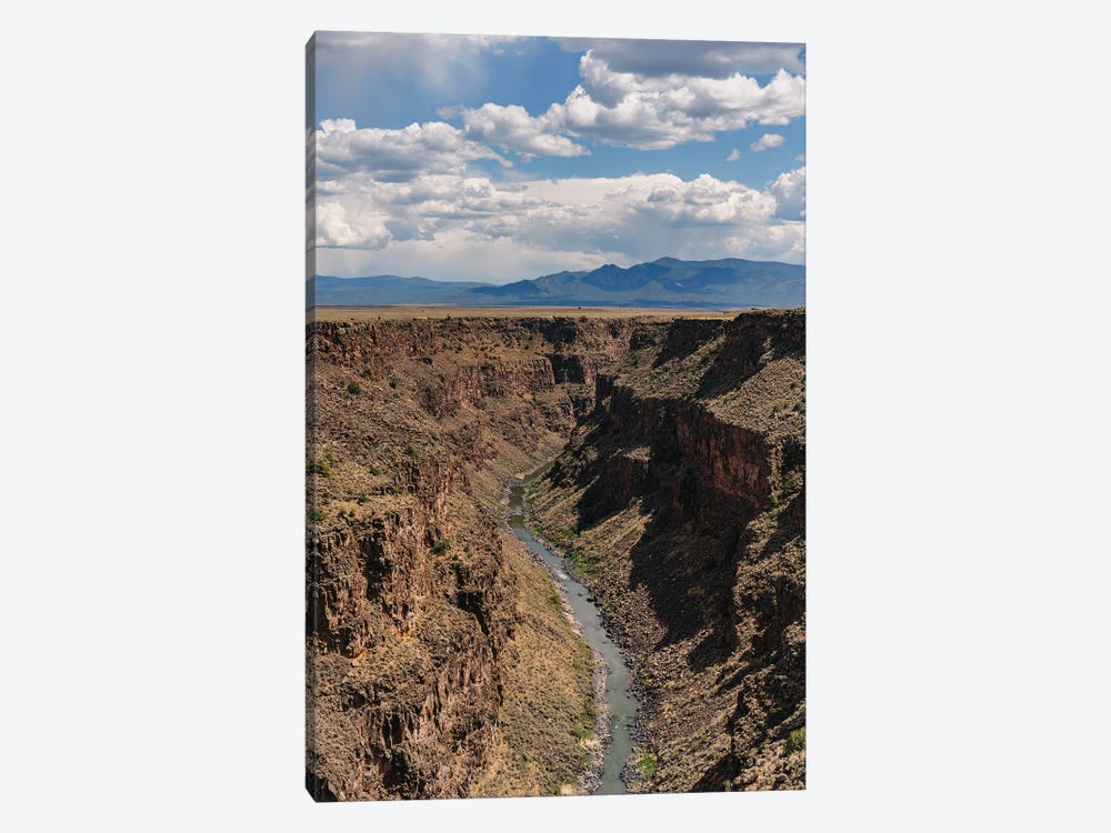 Rio Grande Gorge II by Bethany Young 1-piece Canvas Art Print