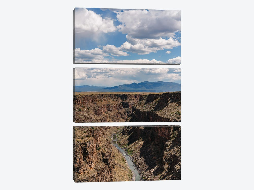 Rio Grande Gorge V by Bethany Young 3-piece Canvas Art