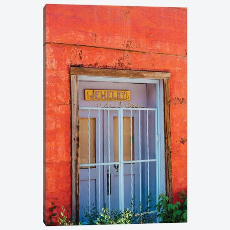 Taos Architecture V Canvas Print #BTY1483} by Bethany Young Canvas Print