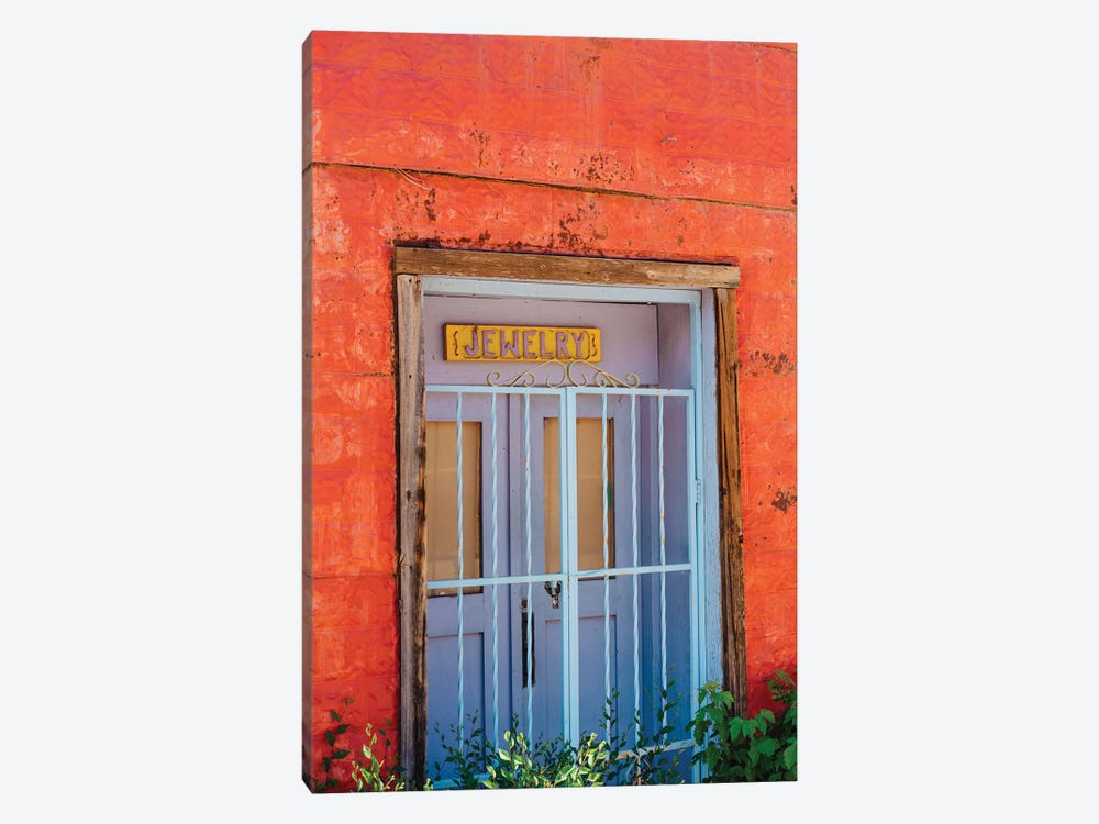 Taos Architecture V by Bethany Young 1-piece Canvas Art Print