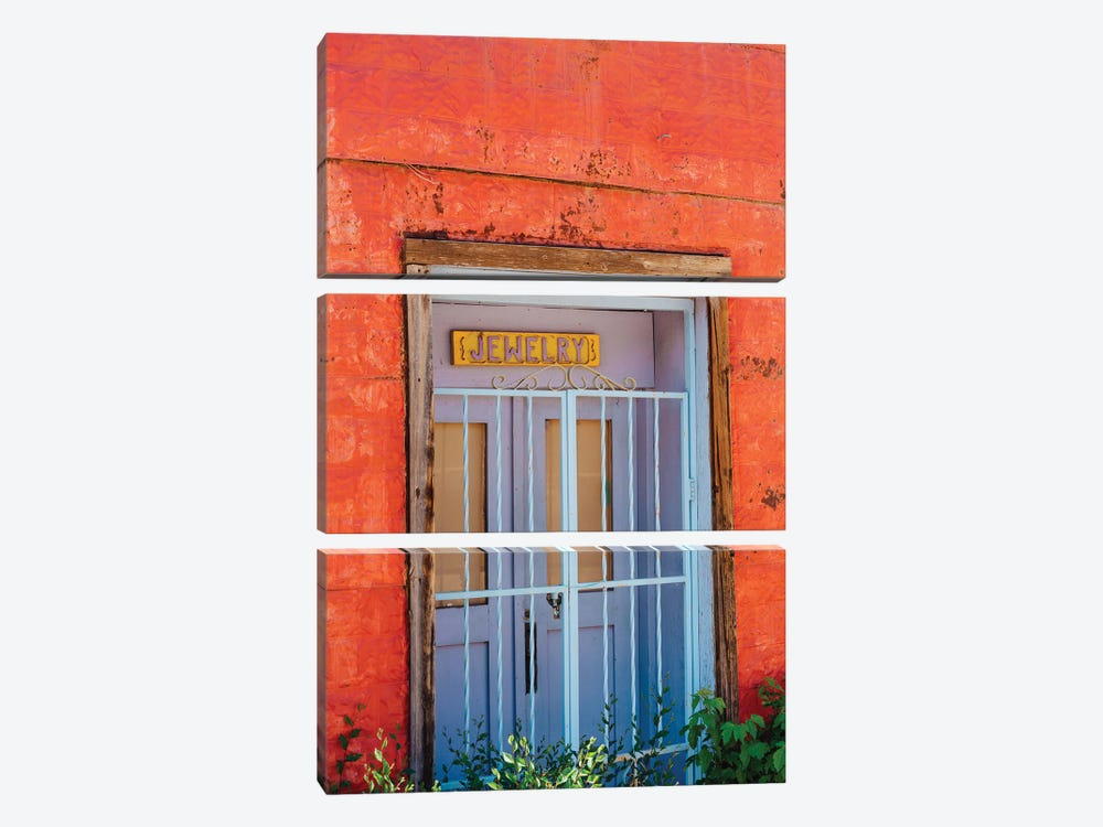 Taos Architecture V by Bethany Young 3-piece Art Print