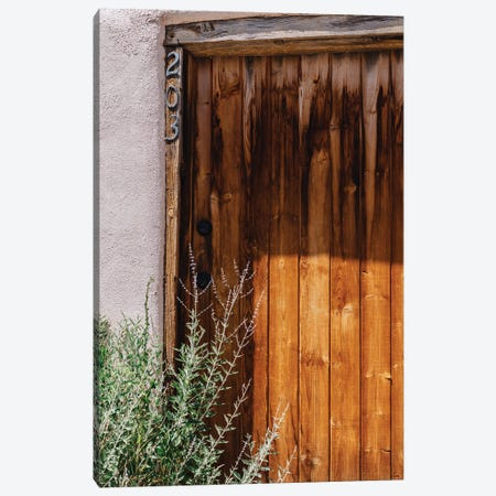 Taos Architecture Canvas Print #BTY1484} by Bethany Young Canvas Wall Art