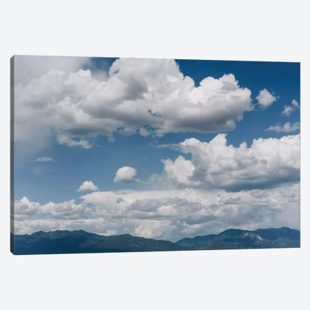 Taos Mountain Sky Canvas Print #BTY1485} by Bethany Young Canvas Art