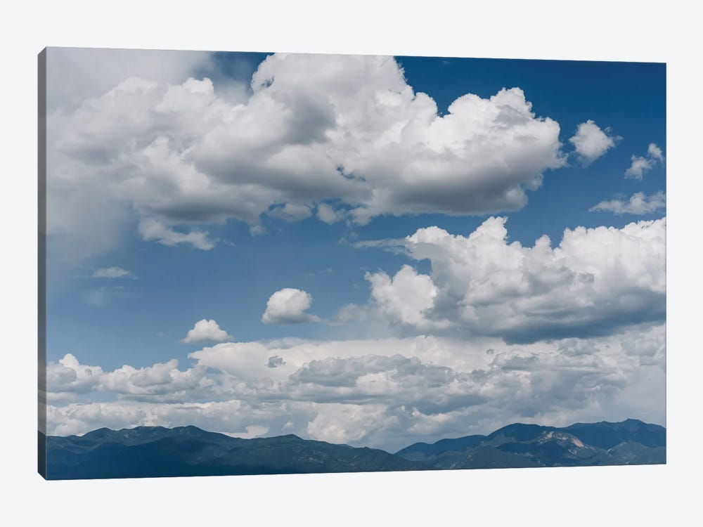 Taos Mountain Sky by Bethany Young 1-piece Canvas Art Print