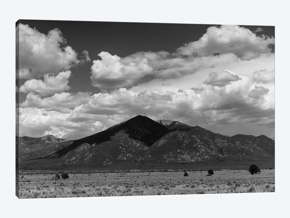 Taos Mountains by Bethany Young 1-piece Canvas Artwork