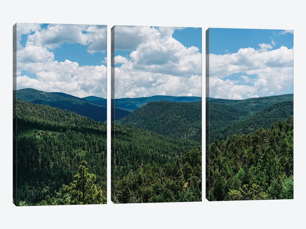 The High Road to Taos II by Bethany Young 3-piece Canvas Print
