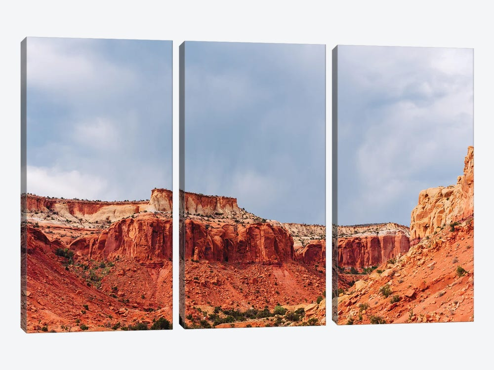 Abiquiu III by Bethany Young 3-piece Canvas Artwork