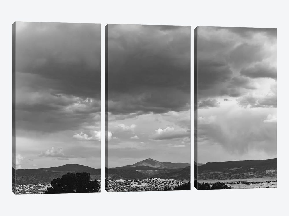Abiquiu View by Bethany Young 3-piece Canvas Wall Art