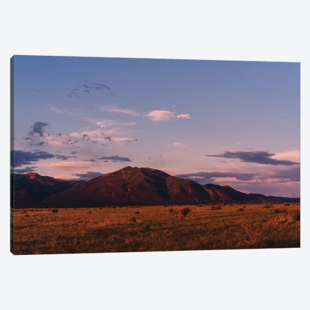 Taos Mountains Sunset V Canvas Print #BTY1511} by Bethany Young Canvas Print
