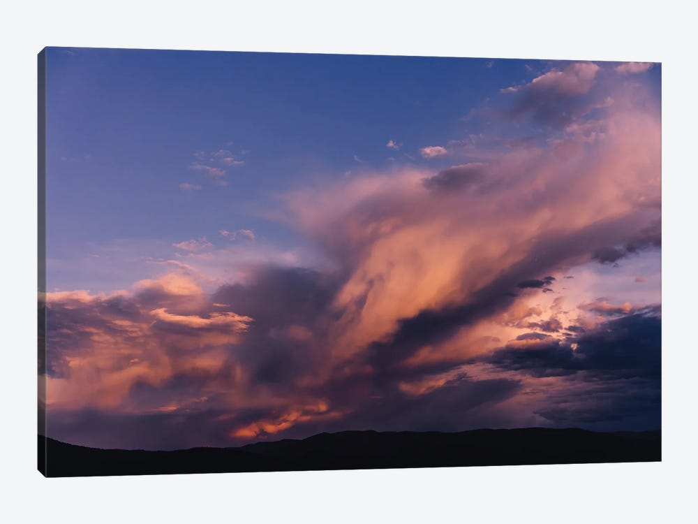 Taos Mountains Sunset by Bethany Young 1-piece Canvas Wall Art