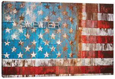 Brooklyn Shelter Canvas Art Print