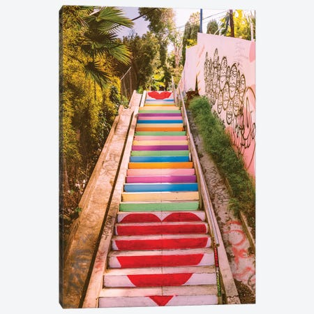 Micheltorena Stairs Canvas Print #BTY155} by Bethany Young Canvas Wall Art