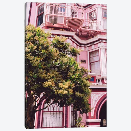 San Francisco Pink II Canvas Print #BTY163} by Bethany Young Canvas Art