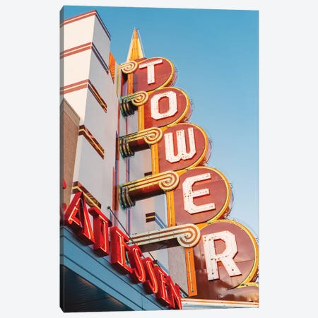 Tower Theater Canvas Print #BTY174} by Bethany Young Canvas Artwork