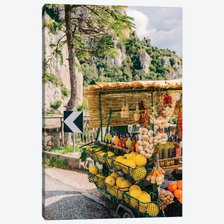 Amalfi Coast Drive XV Canvas Print #BTY210} by Bethany Young Canvas Artwork