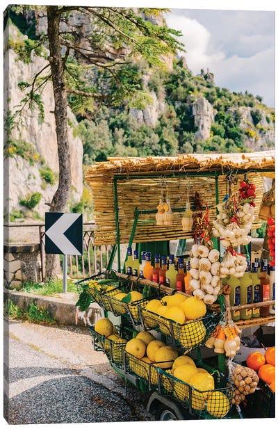 Amalfi Coast Drive XV Canvas Art Print