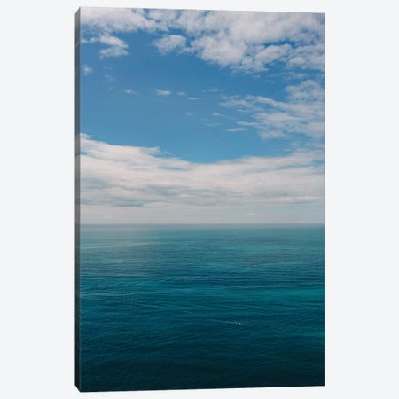 Amalfi Coast Ocean View I Canvas Print #BTY238} by Bethany Young Canvas Artwork
