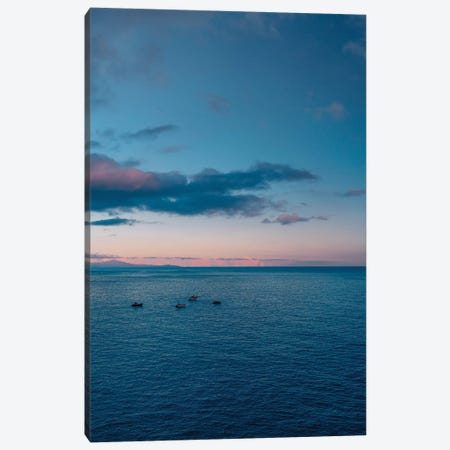 Amalfi Coast Sunset IV Canvas Print #BTY245} by Bethany Young Canvas Wall Art