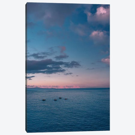 Amalfi Coast Sunset VI Canvas Print #BTY247} by Bethany Young Canvas Art
