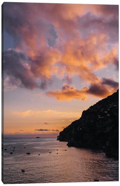 Amalfi Coast Sunset I Canvas Art Print