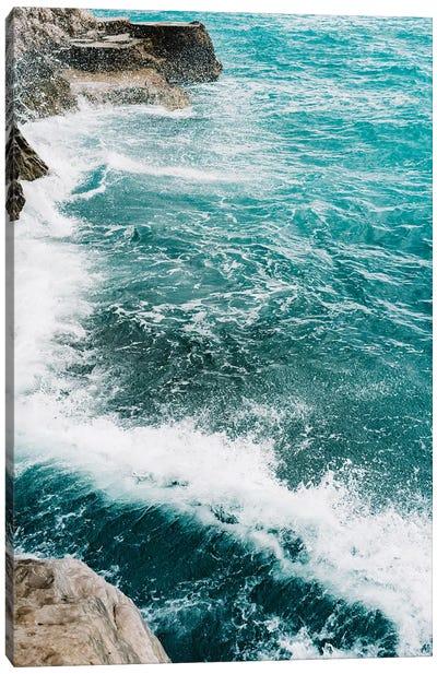 Amalfi Coast Water XIV Canvas Art Print