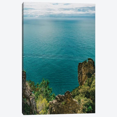 Amalfi Coast Water XIX Canvas Print #BTY262} by Bethany Young Canvas Art Print