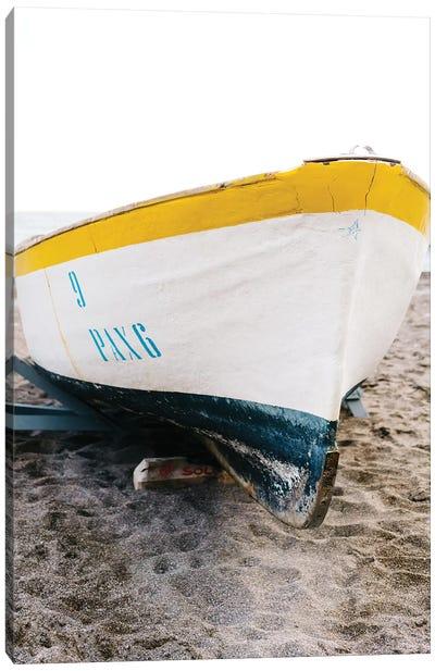 Positano Boat Canvas Art Print