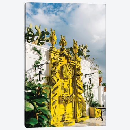 Positano IX Canvas Print #BTY284} by Bethany Young Canvas Wall Art