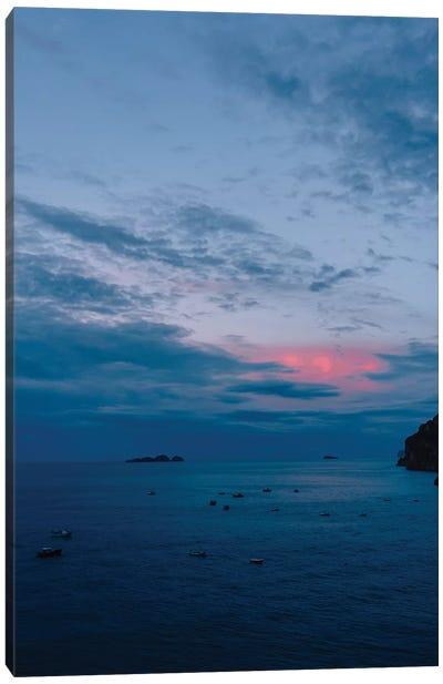 Positano Sunrise III Canvas Art Print