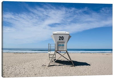 California Beach Day II Canvas Art Print