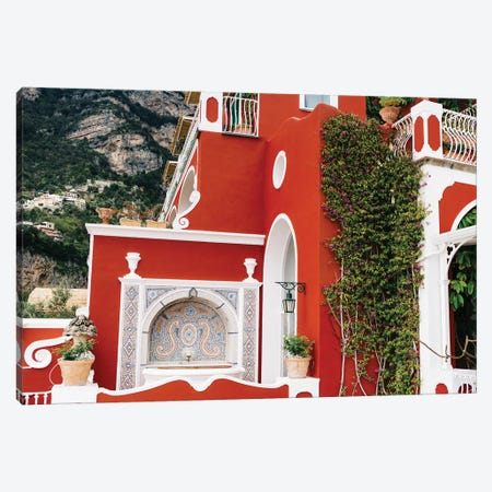 Rainy Positano VI Canvas Print #BTY344} by Bethany Young Art Print