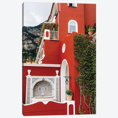 Rainy Positano VII Canvas Print #BTY345} by Bethany Young Art Print