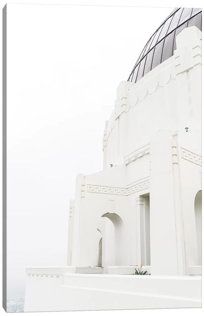 Griffith Observatory Canvas Art Print