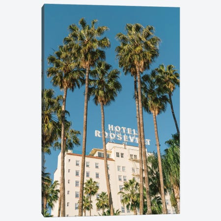 Hollywood Hotel Canvas Print #BTY43} by Bethany Young Canvas Wall Art