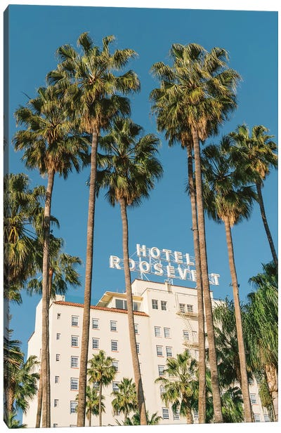 Hollywood Hotel Canvas Art Print