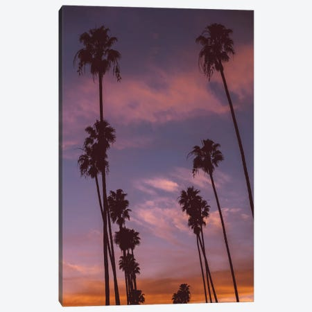 LA Sunset Canvas Print #BTY50} by Bethany Young Canvas Print