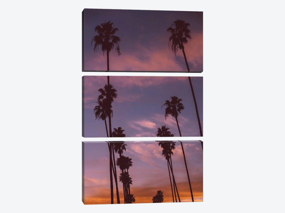 LA Sunset by Bethany Young 3-piece Canvas Wall Art