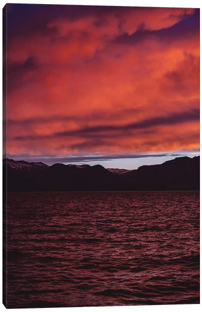 Lake Tahoe Sunset II Canvas Art Print