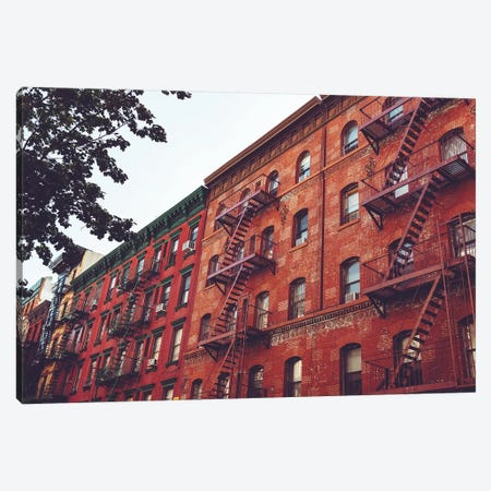 Little Italy Canvas Print #BTY54} by Bethany Young Canvas Artwork