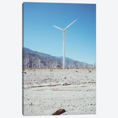 Palm Springs Windmills III Canvas Print #BTY555} by Bethany Young Canvas Art