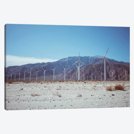 Palm Springs Windmills VII Canvas Print #BTY557} by Bethany Young Canvas Artwork