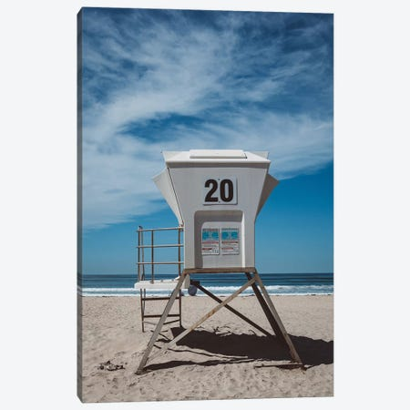 California Beach Day Canvas Print #BTY574} by Bethany Young Canvas Wall Art