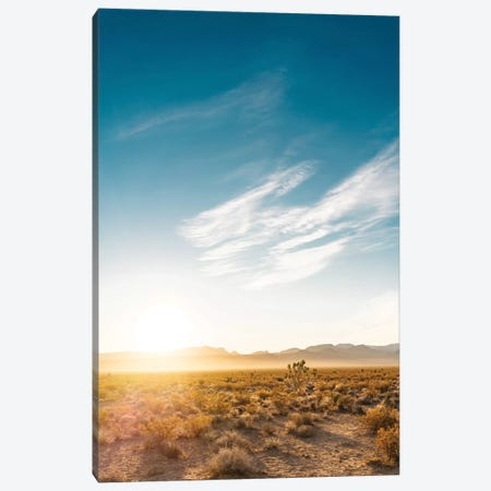 Nevada Desert Sunrise Canvas Print #BTY58} by Bethany Young Canvas Print