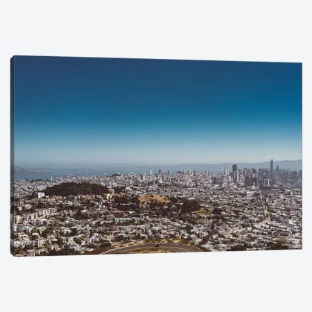 San Francisco View II Canvas Print #BTY597} by Bethany Young Canvas Art