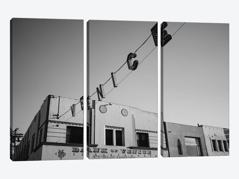 Venice Beach California IV by Bethany Young 3-piece Canvas Artwork