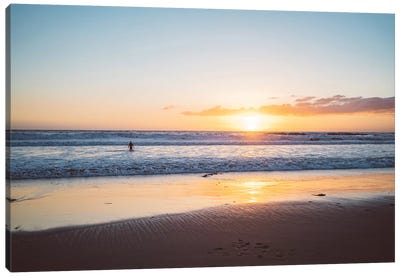 Venice Beach Surfer III Canvas Art Print